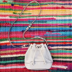 Rebecca Minkoff mini Fiona Gray Bucket Bag